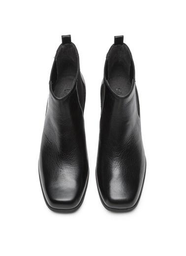 Camper Kısa Topuklu Bot Siyah